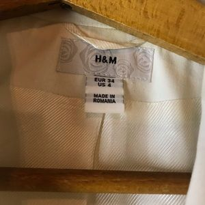 Women's White blazer
